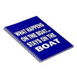 Qué sucede en las estancias del barco en el barco  libreta