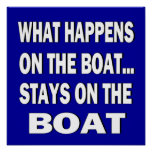 Qué sucede en las estancias del barco en el barco  posters