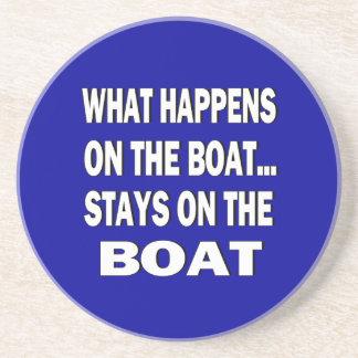 Qué sucede en las estancias del barco en el barco  posavasos para bebidas