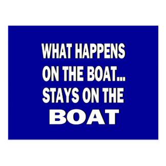 Qué sucede en las estancias del barco en el barco tarjetas postales