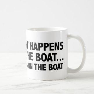 Qué sucede en las estancias del barco… en el barco taza