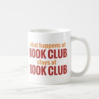 Qué sucede en las estancias del círculo de lectore taza básica blanca