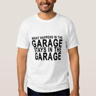 Qué sucede en las estancias del garaje en los T-S Remera