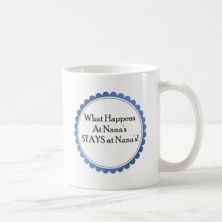 Qué sucede en Nana… ESTANCIAS en Nana Tazas De Café