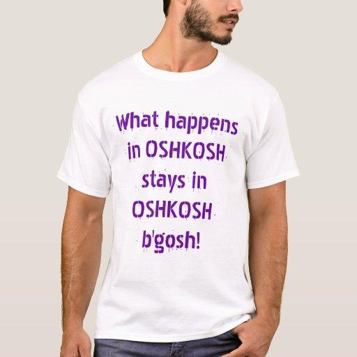 Qué sucede en OshKosh Playera