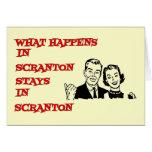 Qué sucede en Scranton Felicitacion