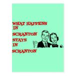 Qué sucede en Scranton Tarjetas Postales