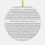 ¿Qué sucede si usted cae en amor con un escritor? Ornaments Para Arbol De Navidad