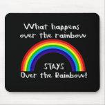 Qué sucede sobre el arco iris… tapete de ratones