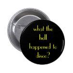 ¿qué sucedió al disco? pin