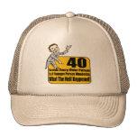 Qué sucedió los 40.os regalos de cumpleaños gorras de camionero