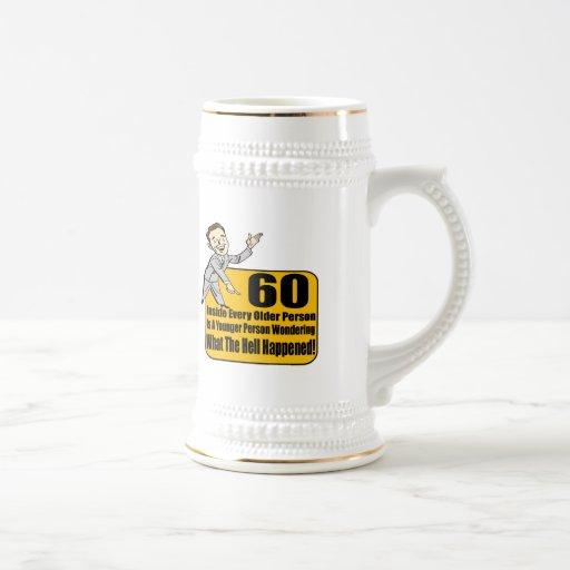 Qué sucedió los 60.os regalos de cumpleaños tazas