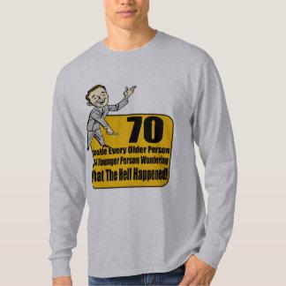 Qué sucedió los 70.os regalos de cumpleaños camisas