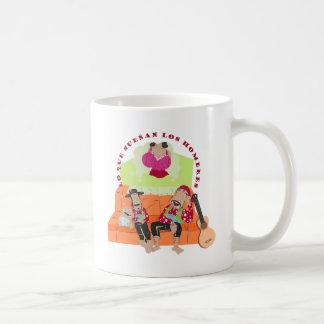 ¿qué sueñan los hombres? coffee mug