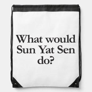 qué Sun Yat-sen haría Mochilas