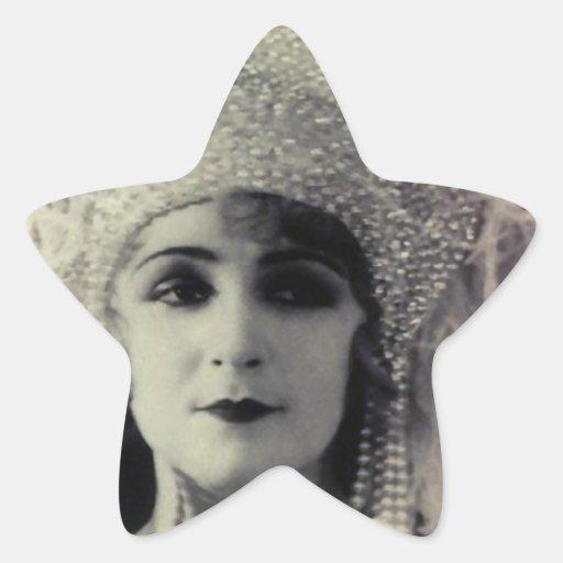Qué toda la ropa de mujer calcomanías forma de estrellaes personalizadas
