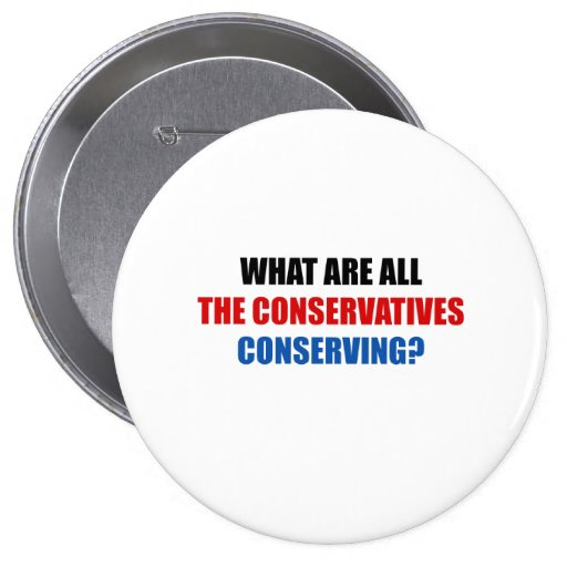 ¿Qué todos los conservadores están conservando? Pin