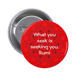 Qué usted busca la cita de la atracción de la sabi pin redondo 5 cm