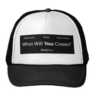 Qué usted creará - gorra del camionero