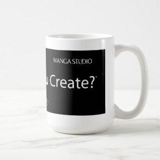 Qué usted creará - taza blanca clásica