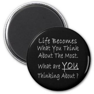 ¿Qué USTED está pensando alrededor? Iman De Nevera