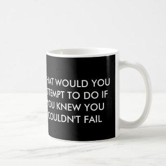 Qué usted intentaría la taza