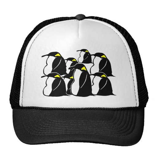 ¿Qué usted llama un grupo de pingüinos? Gorro De Camionero