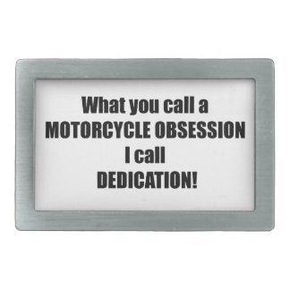 Qué usted llama una obsesión de la motocicleta me hebillas de cinturon