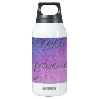 Qué usted puede hoy mejore todas sus mañanas botella isotérmica de agua