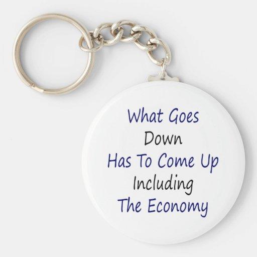 Qué va abajo tiene que subir incluyendo el Econom Llavero