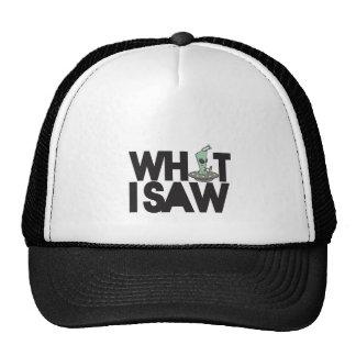 Qué vi ..... gorras de camionero