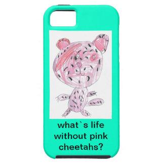 ¿qué vida del ` s sin los guepardos rosados? funda para iPhone SE/5/5s