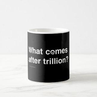 ¿Qué viene después de trillón? Tazas De Café