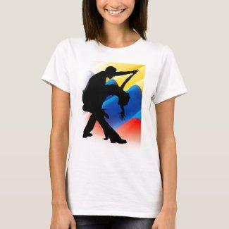 Que Viva La Salsa Colombiana shirt