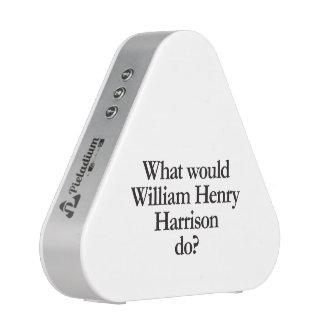 qué William Henry Harrison haría Altavoz Bluetooth