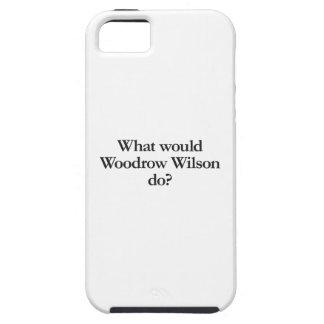 qué Woodrow Wilson haría Funda Para iPhone 5 Tough
