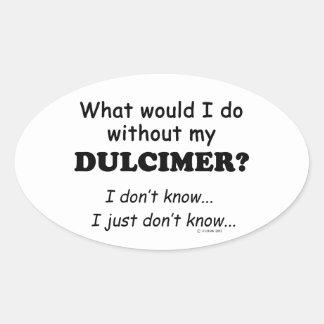Qué yo haga, Dulcimer Pegatina