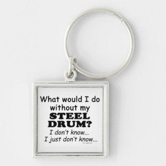 Qué yo haga el tambor de acero llavero personalizado