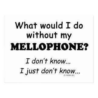 Qué yo haga, Mellophone Tarjetas Postales