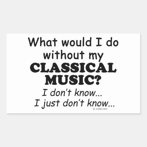 Qué yo haga, música clásica etiquetas