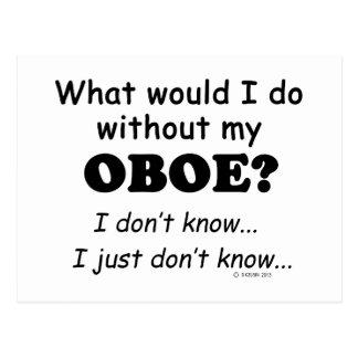 Qué yo haga, Oboe Postales