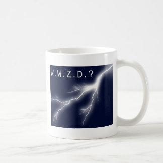 ¿Qué Zeus haría? Taza De Café