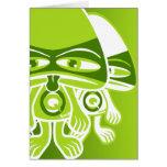 Queasy Mascot Card
