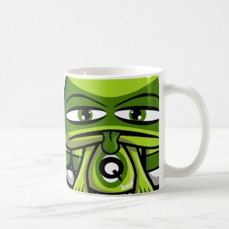 Queasy Mascot Coffee Mug