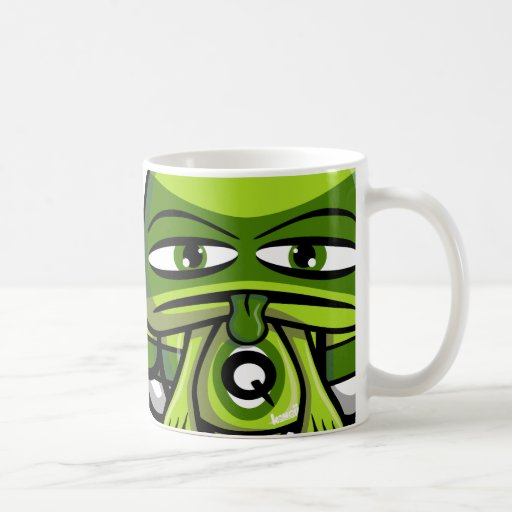 Queasy Mascot Mugs