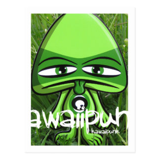 Queasy Mascot Postcard