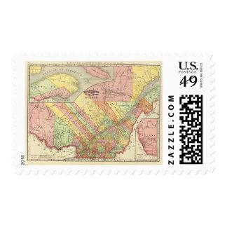 Quebec 2 postage