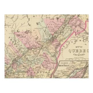 Quebec 2 post cards