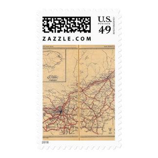 Quebec 4 stamp