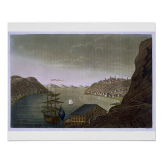 Quebec and the St Lawrence River plate 4 from L Posters